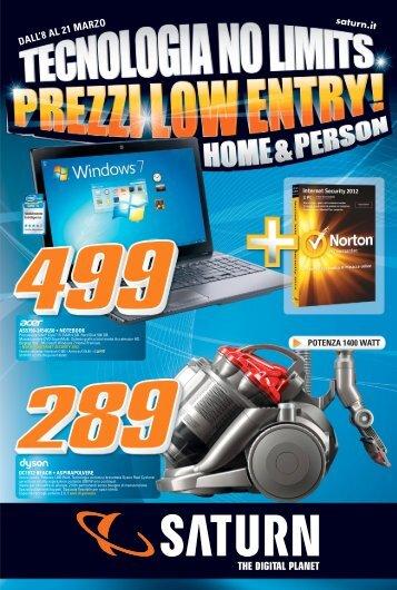 Vendita abbinata: Notebook € 498 + Antivirus € 69,90 = € 567,90 ...