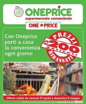 Con Oneprice porti a casa la convenienza ogni giorno - Oneprice.it