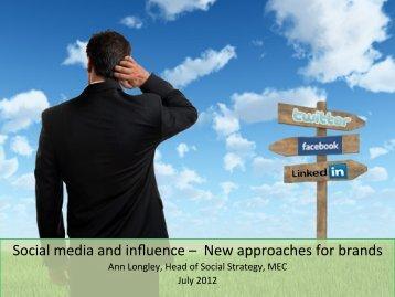 Social media and influence - International Superpromoter Event