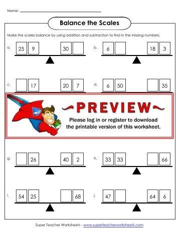 Free Worksheets » Super Teacher Worksheets Equivalent Fractions ...