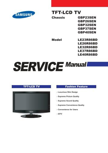plasma tv service manual super tv servis m s rh yumpu com colour television service manual rca television service manuals