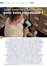 dossier traçabilité - Supply Chain Magazine