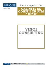 vinci consulting - Supply Chain Magazine