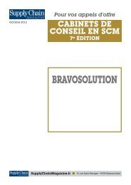 BRAVOSOLUTION - Supply Chain Magazine