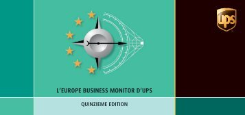 L'EUROPE BUSINESS MONITOR D'UPS - Supply Chain Magazine