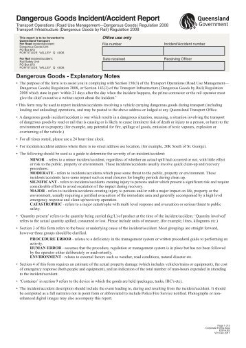 dangerous goods certificate template - passenger crew dangerous goods occurrence report