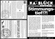 Karlsruher SC - Wehen Wiesbaden - Supporters Karlsruhe 1986 eV
