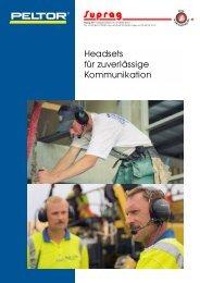 Produkteblatt - Suprag AG