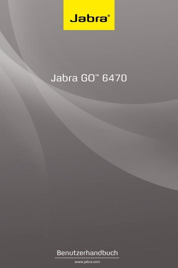 Jabra GO™ 6470 - Suprag AG