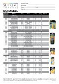 Product List NO PRICES.indd - Supreme Imports - Page 2