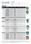 Product List NO PRICES.indd - Supreme Imports - Page 4