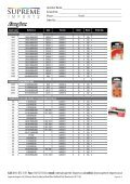 Product List NO PRICES.indd - Supreme Imports - Page 5