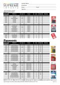 Product List NO PRICES.indd - Supreme Imports - Page 6