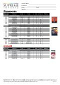 Product List NO PRICES.indd - Supreme Imports - Page 7