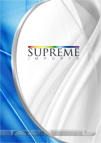 brochure NO LISTS - Supreme Imports