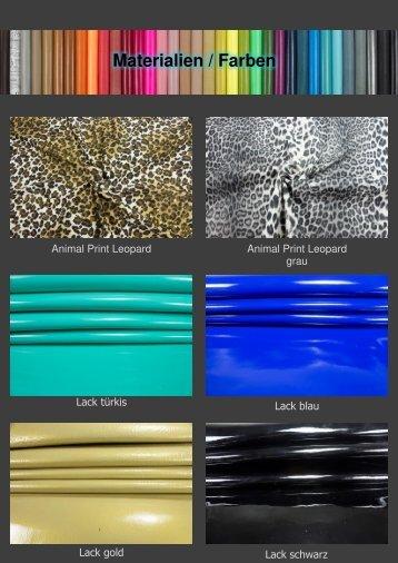 Materialien / Farben