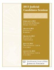 2013 Judicial Candidate Handbook - Supreme Court