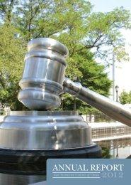 ANNUAL REPORT - Supreme Court - State of Ohio
