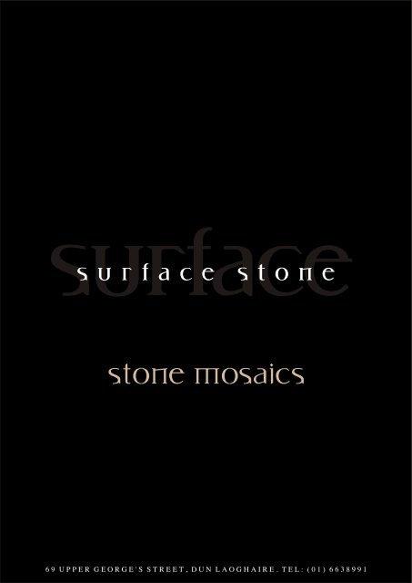Stone Mosaics - Surface Bathrooms