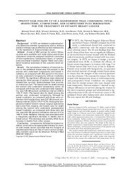 Twenty-year follow-up of a randomized trial comparing total ...