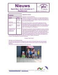 Nieuws Sport Bso, Jip & Janneke en - Surplus Kinderopvang