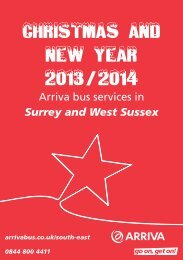 Christmas and New Year 2012/2013 - University of Surrey