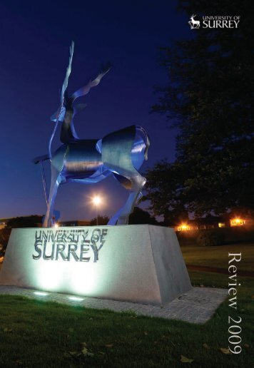 Download the University of Surrey Review 2009