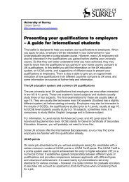 Presenting your qualifications to employers Ó A guide for ...