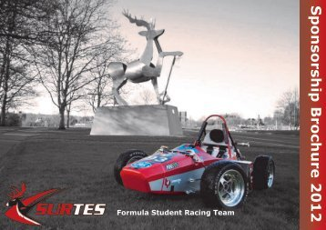 sponsorship brochure - University of Surrey