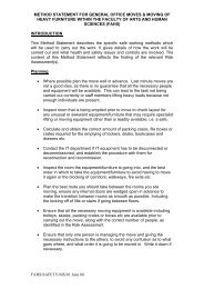 METHOD STATEMENT FOR GENERAL OFFICE MOVES & MOVING ...