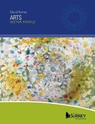 Arts Sector Profile - City of Surrey