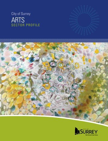 Arts Sector Profile - City of Surrey