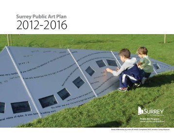 Surrey Public Art Plan 2012-2016 - City of Surrey
