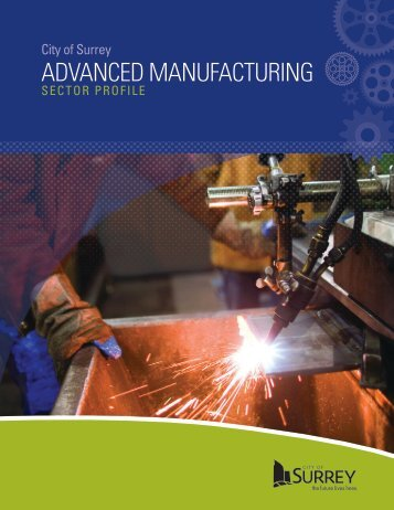ADVANCED MANUFACTURING - City of Surrey