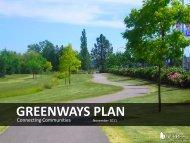 Greenways Plan information - City of Surrey