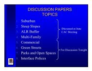Discussion Paper Presentation # 2 - July 20, 2006