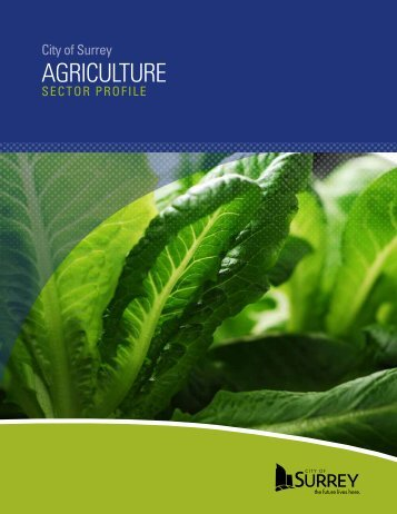 AGRICULTURE - City of Surrey