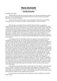 Letter to Plato - Arsmedia