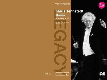 to download the DVD booklet. - International Classical Artists