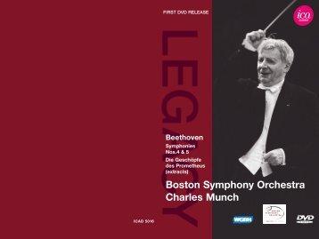 Boston Symphony Orchestra Charles Munch - International ...