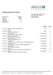 Inhaltsverzeichnis 12.10.2012