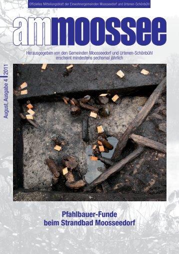 Pfahlbauer-Funde beim Strandbad Moosseedorf - Urtenen-Schönbühl