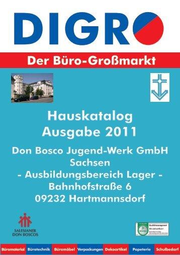 Büromaterial von A - Don Bosco Jugend-Werk GmbH Sachsen