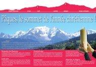 Dépliant pourquoi fêter Pâques - Diocèse d'Annecy