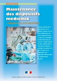 Maintenance des dispositifs médicaux Maintenance ... - Infirmiers.com