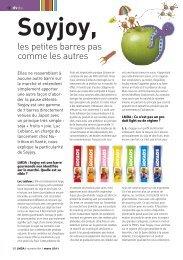 les petites barres pas comme les autres - LMDA - Le Monde De La ...