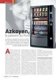 Azkoyen, la passion du froid - LMDA - Le Monde De La Distribution ...