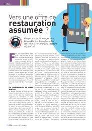 restauration assumée ? - LMDA - Le Monde De La Distribution ...