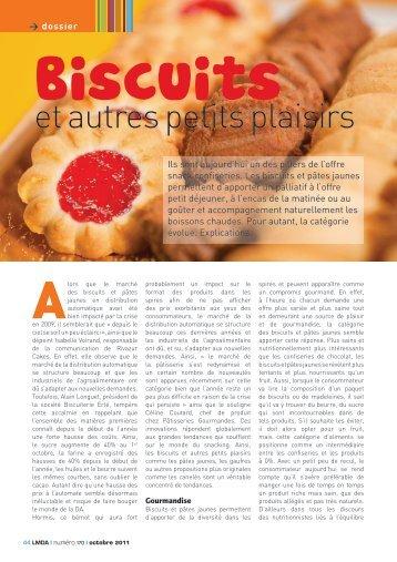 Biscuits et autres petits plaisirs - LMDA - Le Monde De La ...