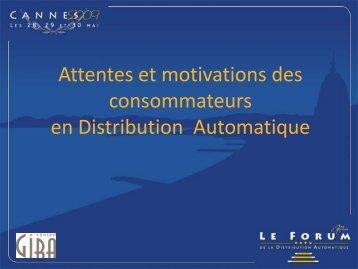 Diapositive 1 - LMDA - Le Monde De La Distribution Automatique